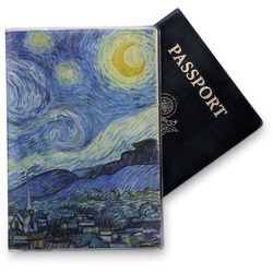 The Starry Night (Van Gogh 1889) Vinyl Passport Holder