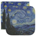 The Starry Night (Van Gogh 1889) Facecloth / Wash Cloth