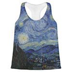 The Starry Night (Van Gogh 1889) Womens Racerback Tank Top