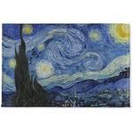 The Starry Night (Van Gogh 1889) Woven Mat