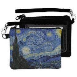 The Starry Night (Van Gogh 1889) Wristlet ID Case