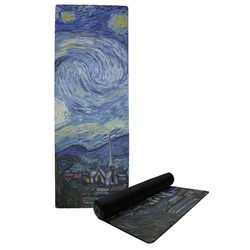 The Starry Night (Van Gogh 1889) Yoga Mat