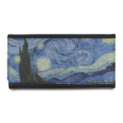 The Starry Night (Van Gogh 1889) Leatherette Ladies Wallet