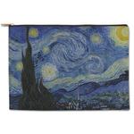 The Starry Night (Van Gogh 1889) Zipper Pouch