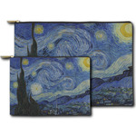 The Starry Night (Van Gogh 1889) Zipper Pouch