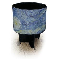 The Starry Night (Van Gogh 1889) Black Beach Spiker Drink Holder