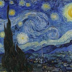 The Starry Night (Van Gogh 1889)