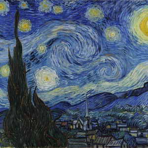 The Starry Night (Van Gogh 1889)