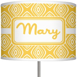 """Tribal Diamond 13"""" Drum Lamp Shade Polyester (Personalized)"""