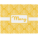 Tribal Diamond Placemat (Fabric) (Personalized)