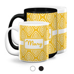 Tribal Diamond Coffee Mugs (Personalized)