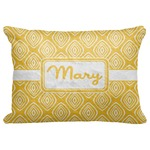 "Tribal Diamond Decorative Baby Pillowcase - 16""x12"" (Personalized)"