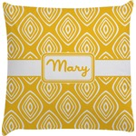 Tribal Diamond Decorative Pillow Case (Personalized)