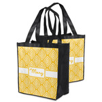 Tribal Diamond Grocery Bag (Personalized)