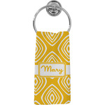 Tribal Diamond Hand Towel - Full Print (Personalized)