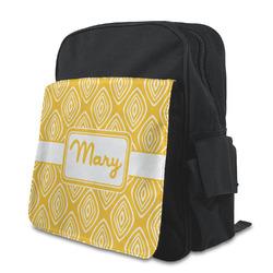 Tribal Diamond Preschool Backpack (Personalized)