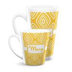 Tribal Diamond Latte Mug (Personalized)