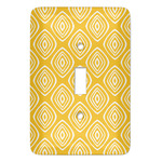 Tribal Diamond Light Switch Covers - Multiple Toggle Options Available (Personalized)