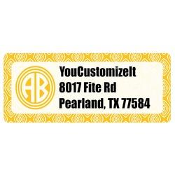 Tribal Diamond Return Address Labels (Personalized)