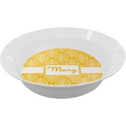 Tribal Diamond Melamine Bowl (Personalized)