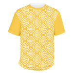 Tribal Diamond Men's Crew T-Shirt (Personalized)