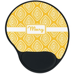 Tribal Diamond Mouse Pad with Wrist Support