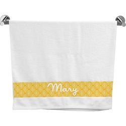 Tribal Diamond Bath Towel (Personalized)