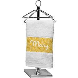 Tribal Diamond Finger Tip Towel (Personalized)