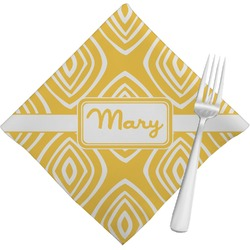 Tribal Diamond Napkins (Set of 4) (Personalized)