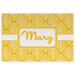 Tribal Diamond Laminated Placemat w/ Name or Text
