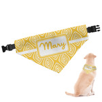 Tribal Diamond Dog Bandana (Personalized)
