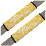 Tribal Diamond Seat Belt Covers (Set of 2) (Personalized)