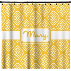 Tribal Diamond Shower Curtain (Personalized)