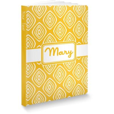 Tribal Diamond Softbound Notebook (Personalized)