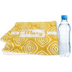 Tribal Diamond Sports Towel (Personalized)