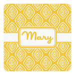 Tribal Diamond Square Decal (Personalized)
