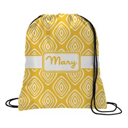 Tribal Diamond Drawstring Backpack (Personalized)
