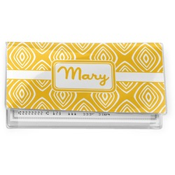 Tribal Diamond Vinyl Checkbook Cover (Personalized)
