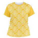 Tribal Diamond Women's Crew T-Shirt (Personalized)