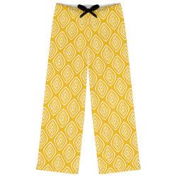 Tribal Diamond Womens Pajama Pants (Personalized)