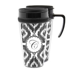 Ikat Acrylic Travel Mugs (Personalized)