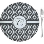 Ikat Glass Appetizer / Dessert Plates 8