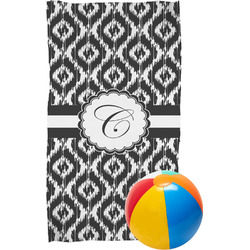 Ikat Beach Towel (Personalized)