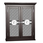 Ikat Cabinet Decal - Custom Size (Personalized)