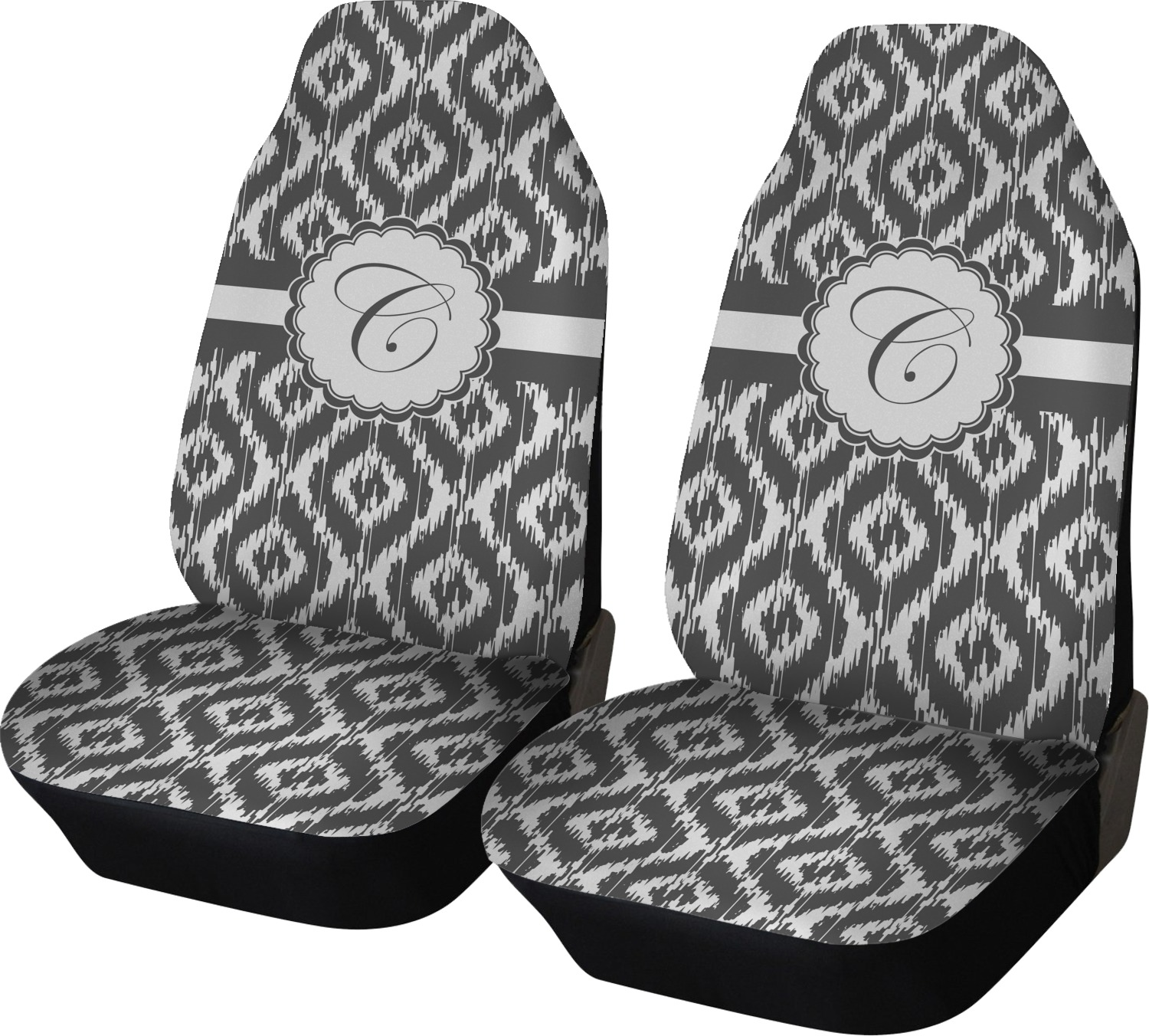 Ikat Car Seat Covers Set Of Two Personalized