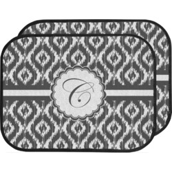 Ikat Car Floor Mats (Back Seat) (Personalized)