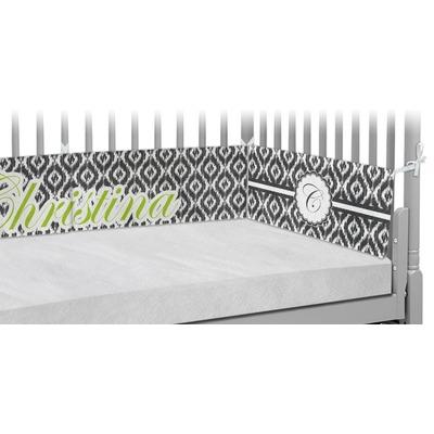 Ikat Crib Bumper Pads (Personalized)