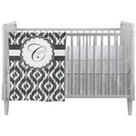 Ikat Crib Comforter / Quilt (Personalized)