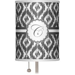 "Ikat 7"" Drum Lamp Shade (Personalized)"