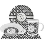 Ikat Dinner Set - 4 Pc (Personalized)